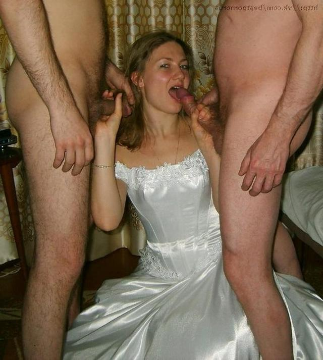 секс фото невеста трахаеца с свидетелями
